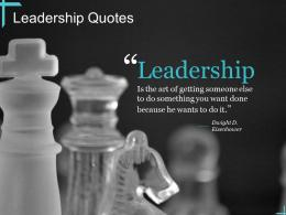 Leadership Quotes Art Ppt Powerpoint Presentation Professional Example File