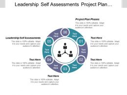 Leadership Self Assessments Project Plan Phases Market Contribution Cpb