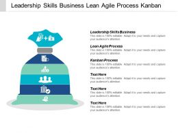 Leadership Skills Business Lean Agile Process Kanban Process Cpb