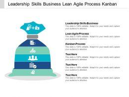 Leadership Skills Business Lean Agile Process Kanban Process Cpb
