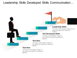 Leadership Skills Developed Skills Communication Interpersonal Skills Training Cpb