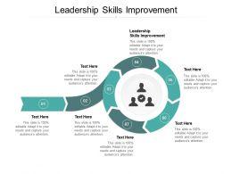 Leadership Skills Improvement Ppt Powerpoint Presentation File Designs Download Cpb