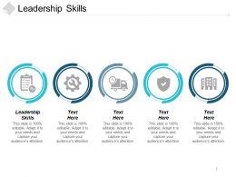 Leadership Skills Ppt Powerpoint Presentation Icon Background Designs Cpb