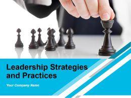 Leadership Strategies And Practices Powerpoint Presentation Slides