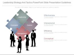 leadership_strategy_and_tactics_powerpoint_slide_presentation_guidelines_Slide01