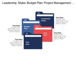 Leadership Styles Budget Plan Project Management Payroll Management Cpb