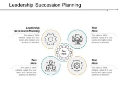 Leadership Succession Planning Ppt Powerpoint Presentation Inspiration Visual Aids Cpb