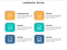 Leadership Survey Ppt Powerpoint Presentation Summary Clipart Cpb