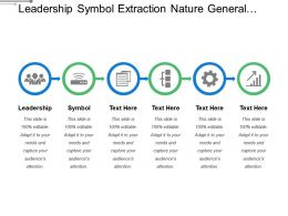 Leadership Symbol Extraction Nature General Waste Unnecessary Material