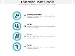 Leadership Team Charter Ppt Powerpoint Presentation Infographic Template Gridlines Cpb
