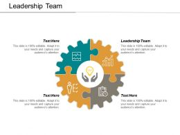 Leadership Team Ppt Powerpoint Presentation Model Design Templates Cpb