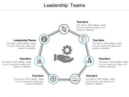 Leadership Teams Ppt Powerpoint Presentation Infographic Template Aids Cpb