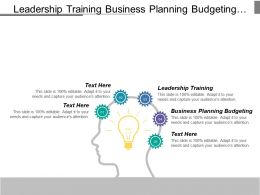 Leadership Training Business Planning Budgeting Customer Relationship Strategies