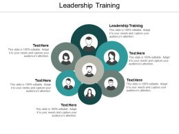 Leadership Training Ppt Powerpoint Presentation Ideas Show Cpb