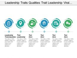 Leadership Traits Qualities Trait Leadership Viral Marketing Cpb
