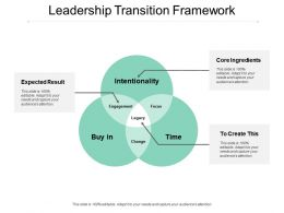 Leadership Transition Framework