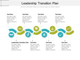 Leadership Transition Plan Ppt Powerpoint Presentation Styles Visuals Cpb