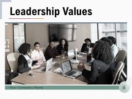 Leadership Values Identifying Business Success Growth Organization Management