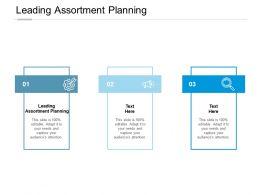 Leading Assortment Planning Ppt Powerpoint Presentation File Portfolio Cpb