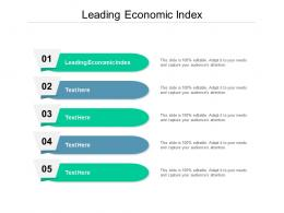 Leading Economic Index Ppt Powerpoint Presentation File Slide Cpb