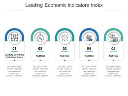 Leading Economic Indicators Index Ppt Powerpoint Presentation Slides Cpb