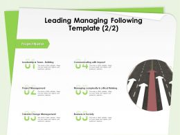 Leading Managing Following Template Critical Thinking Ppt Powerpoint Presentation Tips