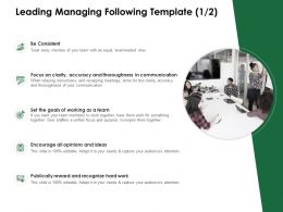 Leading Managing Following Template Publically Reward Ppt Powerpoint Presentation Pictures