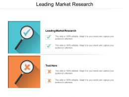 Leading Market Research Ppt Powerpoint Presentation File Guidelines Cpb