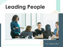 Leading People Business Professional Goals Target Organizational Growth