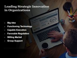 Leading Strategic Innovation In Organizations Ppt Slide