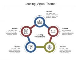 Leading Virtual Teams Ppt Powerpoint Presentation Model Pictures Cpb