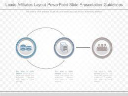 Leads Affiliates Layout Powerpoint Slide Presentation Guidelines