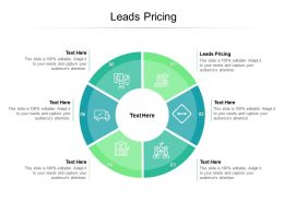 Leads Pricing Ppt Powerpoint Presentation Infographic Template Structure Cpb
