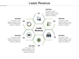 Leads Revenue Ppt Powerpoint Presentation File Templates Cpb