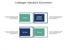 Leakages Injections Economics Ppt Powerpoint Presentation Model Structure Cpb