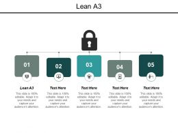 Lean A3 Ppt Powerpoint Presentation Outline Designs Download Cpb