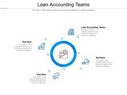 Lean Accounting Teams Ppt Powerpoint Presentation Summary Outline Cpb