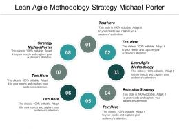 Lean Agile Methodology Strategy Michael Porter Retention Strategy Cpb