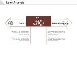 Lean Analysis Ppt Powerpoint Presentation Styles Slide Download Cpb