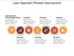 Lean Approach Process Improvement Ppt Powerpoint Presentation File Format Ideas Cpb