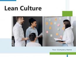Lean Culture Framework Performance Gear Development Growth