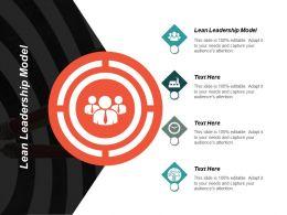 Lean Leadership Model Ppt Powerpoint Presentation Infographics Master Slide Cpb