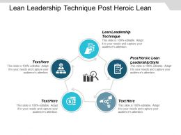 Lean Leadership Technique Post Heroic Lean Leadership Style Cpb