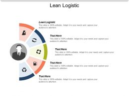 Lean Logistic Ppt Powerpoint Presentation Gallery Inspiration Cpb