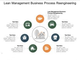 Lean Management Business Process Reengineering Ppt Powerpoint Presentation Professional Cpb