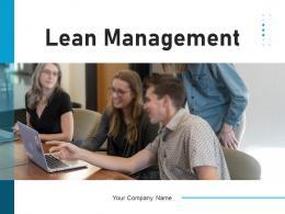 Lean Management Organization Workflow Operations Roadmap Process