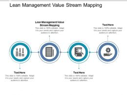 Lean Management Value Stream Mapping Ppt Powerpoint Presentation Portfolio Graphics Cpb