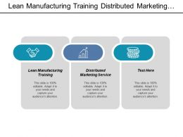 Lean Manufacturing Training Distributed Marketing Service Asset Management Report Cpb