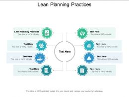 Lean Planning Practices Ppt Powerpoint Presentation Inspiration Icons Cpb