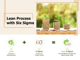 Lean Process With Six Sigma